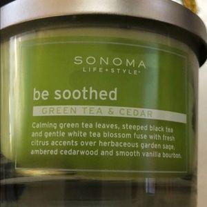 Green Tea & Cedar Be Soothed Jar Candle